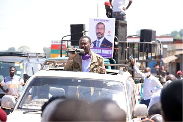 Stand Firm and Overwhelm Gen. Museveni through the Ballot− Mugisha Muntu
