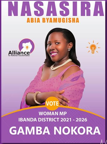 Abia Nasasira Byamugisha – Woman MP for Ibanda District